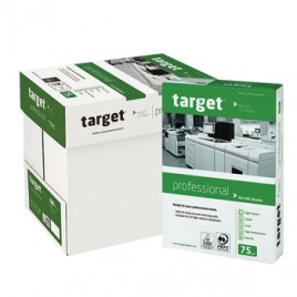 Papel Fotocopia A4 75gr Target Professional 5x500Folhas