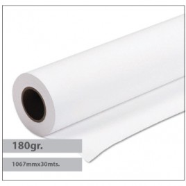 Papel Plotter Revestido Premium 180gr 1067mmx30mts – 1 Rolo