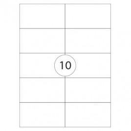 Etiquetas 105×57  100 Folhas 1000un