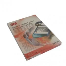 Transparencias p/Laser/Copier Mono 3M PP2200 A4 100Folhas