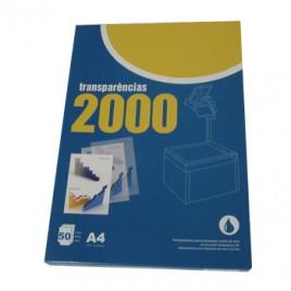 Transparencias 2000 Impressao Inkjet 50fls c/Tira Removível