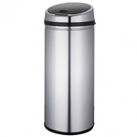 Caixote Lixo Inox C/Sensor 42 Litros