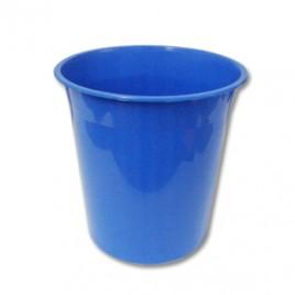 Cesto Papeis Plastico 15 Litros Azul