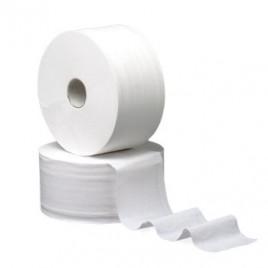 Papel Higienico (Jumbo) Cleanspot 2Fls 300Mts Tubo60mm (9un)
