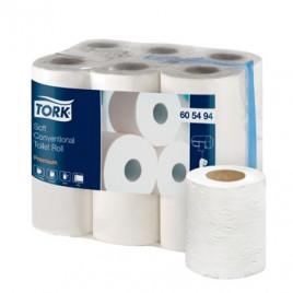 Papel Higienico TORK 2Fls 9,2cm 18,8mts  12 Rolos