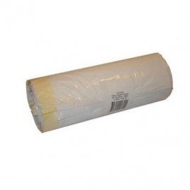 Sacos Lixo Plast 100Lts C/Fecho Branco 22,5my (70x105cm)-10u