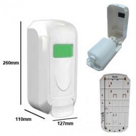 Saboneteira Plastica com deposito 1200ml PW-1401