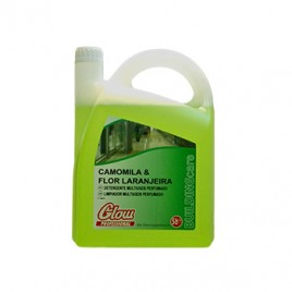 Detergente Multiusos Camomila/flor Laranjeira GLOW 5 Litros