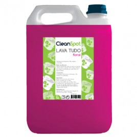 Detergente Lava Tudo Floral Cleanspot (5 Litros)