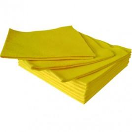 Pano Multiusos Suave Amarelo 40x38cm – 1un