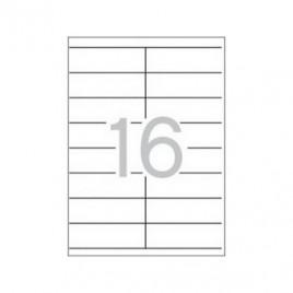 Etiquetas 105×35 Apli 100 Folhas A4 1600un