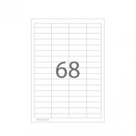 Etiquetas 48,5×16,9 Multi3 100 Folhas 6800un
