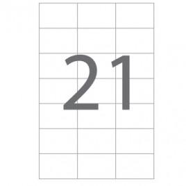 Etiquetas 70×42,4 Multi3 100 Folhas A4 2100un
