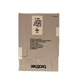 Papel Original e Copia A6 (C251S) 105mmx148mm