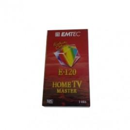 Cassete Video EMTEC Vhs E-120 – 1un