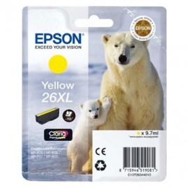 Tinteiro Epson XP600/XP700 Claria Premium nº26XL Amarelo