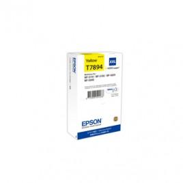 Tinteiro Epson WF5110/5190/5620/5690 Cap Extra Amarelo