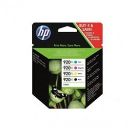 Tinteiro (C2N92A) HP Nº920XL Pack 4 Cores