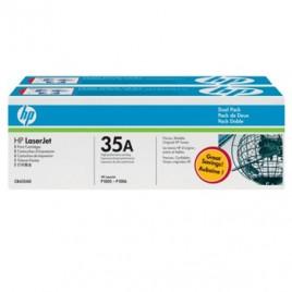 Toner HP Laserjet CB435A (Pack 2) Preto