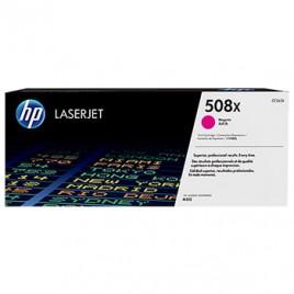 Toner HP Laserjet 508X Enterprise M553 Alta Cap Magenta