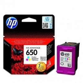 Tinteiro HP Deskjet 1515/2515/2645 Nº650 Cor