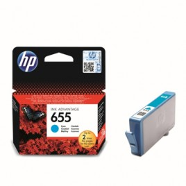 Tinteiro HP Dsignjet 4615/4625/5525/6525 Nº655 Turquesa