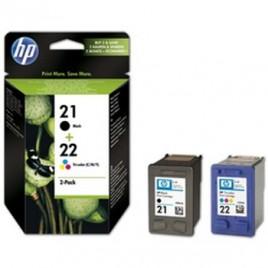 Tinteiro Deskjet C9351A + C9352A Pack de nº21+ nº22