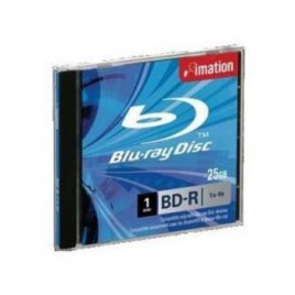 DVD BD R SL Blue Ray ( 1 capa ) 1x4x 25GB Jewel case Cx 5Uni