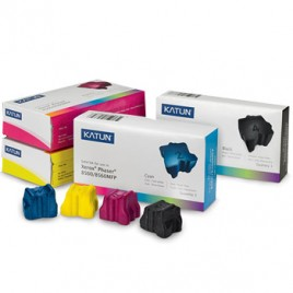 Tinta Solida p/ Xerox  8500/8550 Preto (Pack3)