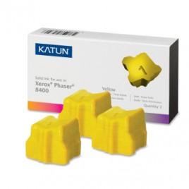 Phaser Xerox  8400 Stick Amarelo 3un