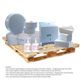 Start Kit Higiene e limpeza