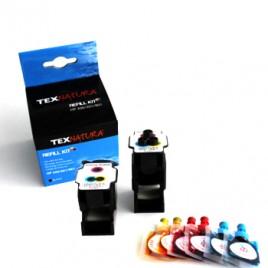 Refill Kit p/HP Nº300/Nº301/Nº901 3 Cores