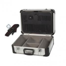 Mala de ferramentas em alumínio (455x330x165mm)