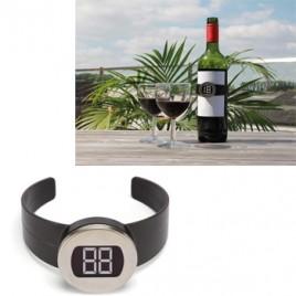 Termometro digital para vinhos, champanhes ou outras bebidas