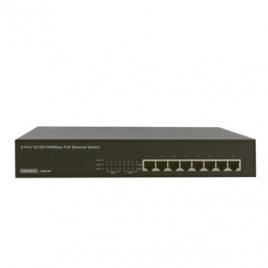 Switch PoE 8 portas ethernet gigabit 10/100/1000 Mps