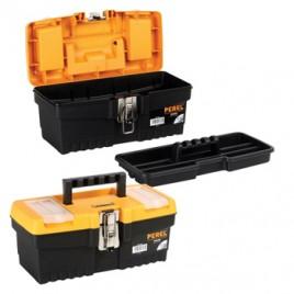 Caixa de ferramenta de 13 pol, com fechos metálicos