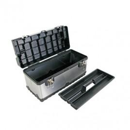 Caixa de ferramentas em aço inoxidavel 505x235x225mm