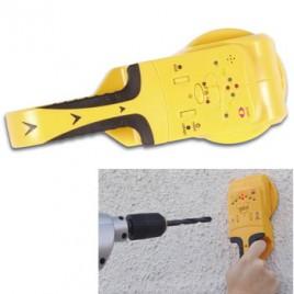 Detector de cablagem, pregos p/posterior furacao em paredes